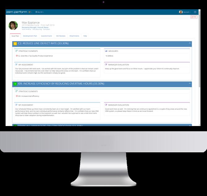 Screenshot +Perform - Employee Goal Plan DESKTOP
