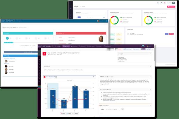 Screenshot Group - Strategy Peform OKR