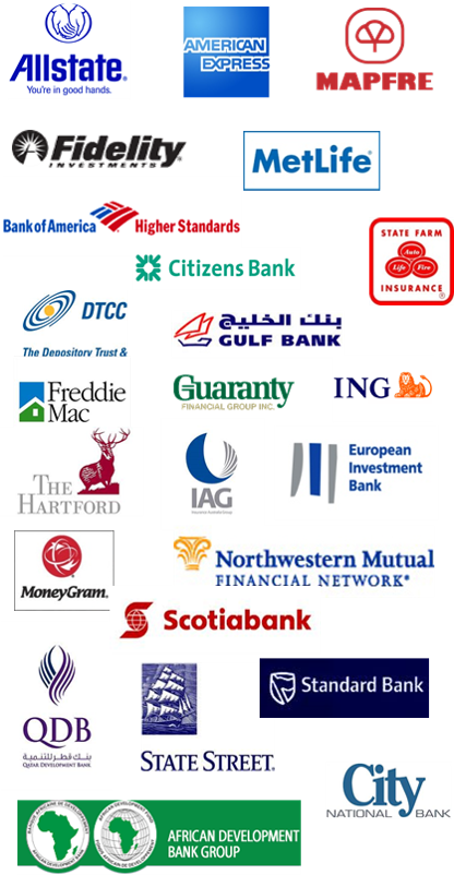 Financial Industry Logos Consolidated