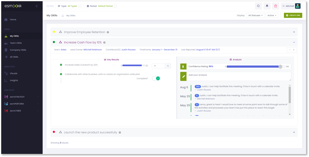 OKR screenshot 1
