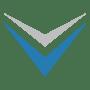 down arrow blue