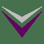 down arrow purple