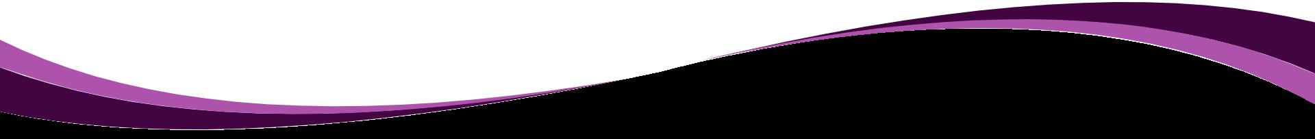 purple swoosh down up white above transparent below